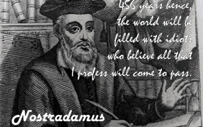 PAYING ATTENTION TO NOSTRADAMUS – Marlene Daley