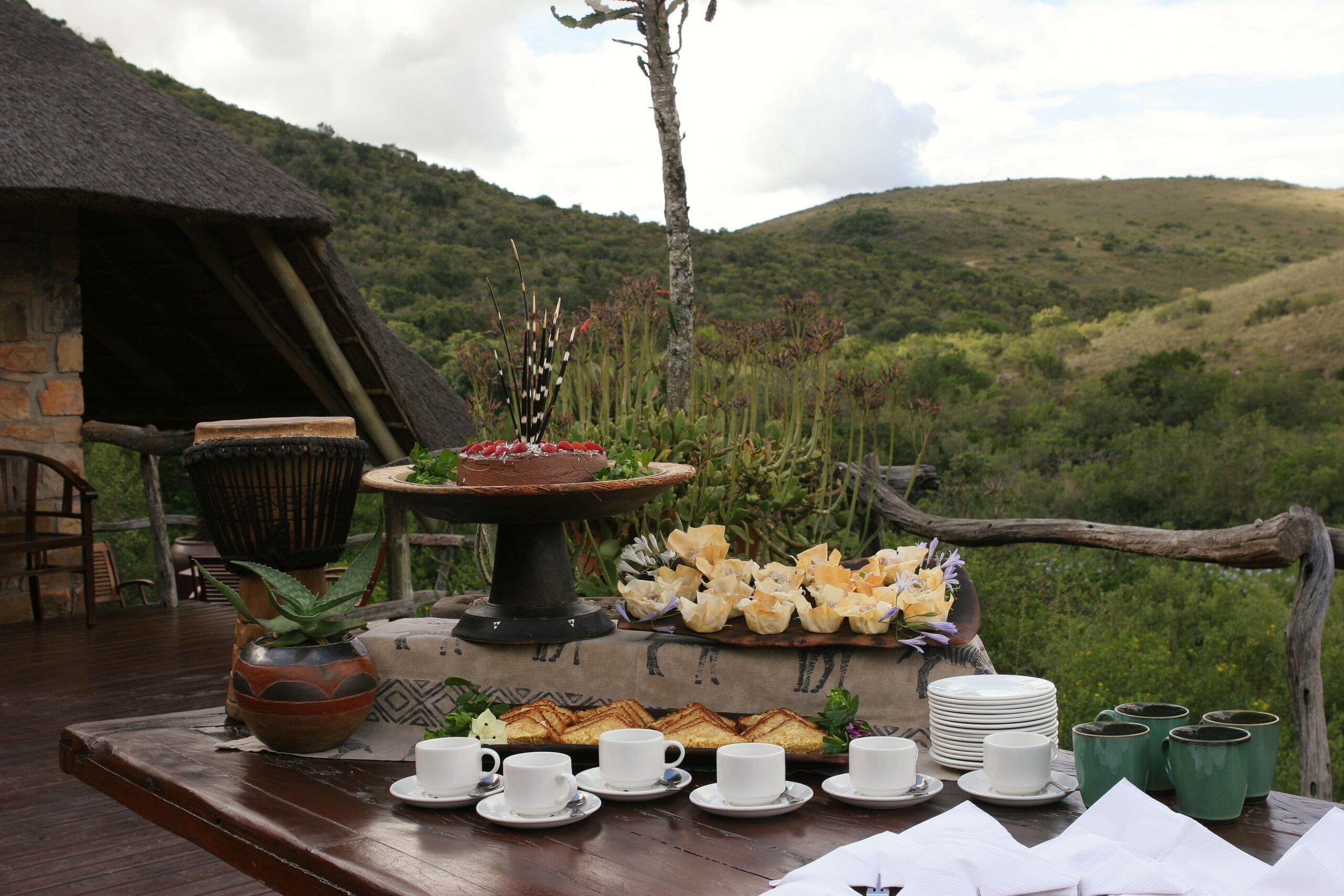 Lalibela Game Reserve Lentaba Lodge Tea